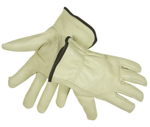 Medium Soft Pigskin Winter Insulated Lined Leather Work Driver Glove Men Women