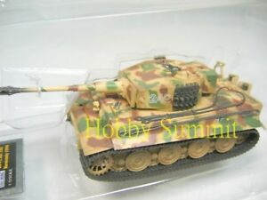 1-72-German-WWII-TIGER-1-Late-Type-Normandy1944-Pz-Abt-102-Painted-Model-Tank