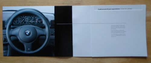 E46 BMW 3 Series ES Range 2003 UK Market brochure prospekt