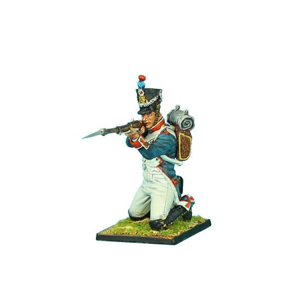 First Legion  NAP0328 French 18th Line Infantry Fusilier Kneeling Firing