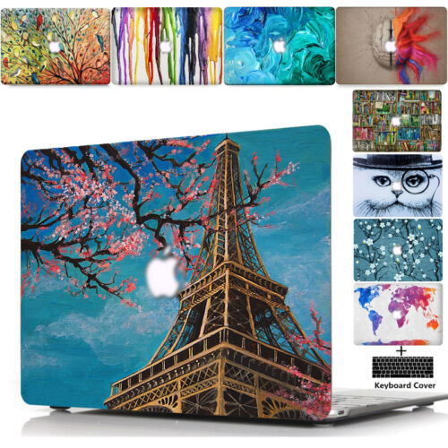 """Hard Case+Silicone Keypad Cover For 2016-2018 Apple Macbook Pro//Air 11/"""" 13/"""" 15/"""""""