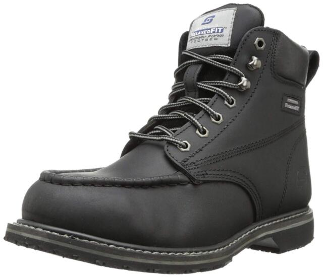 b1d2b49052a Skechers on -torre Men's Steel Toe Working BOOTS Size 11