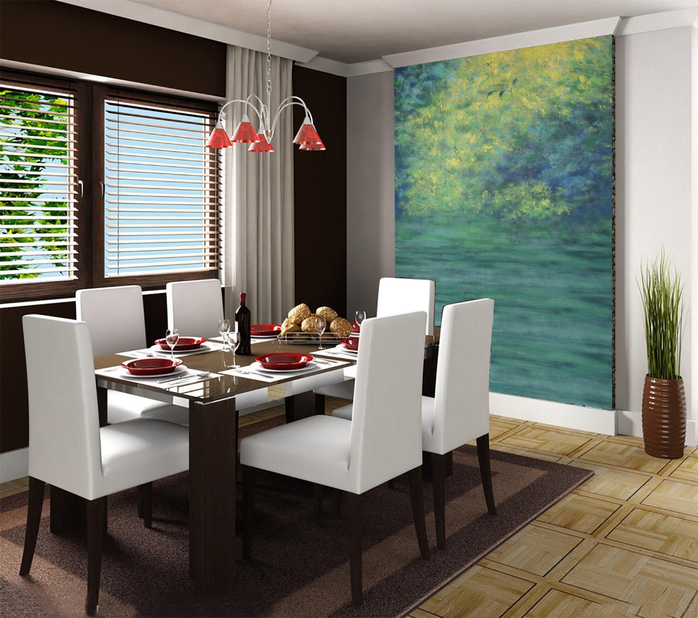 3D Malerischer See 774 Tapete Wandgemälde Tapete Tapeten Bild Familie DE Summer