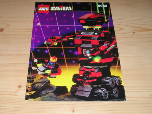 Lego Legoland  Raumfahrt Classic Space Anleitung 6949 gelocht