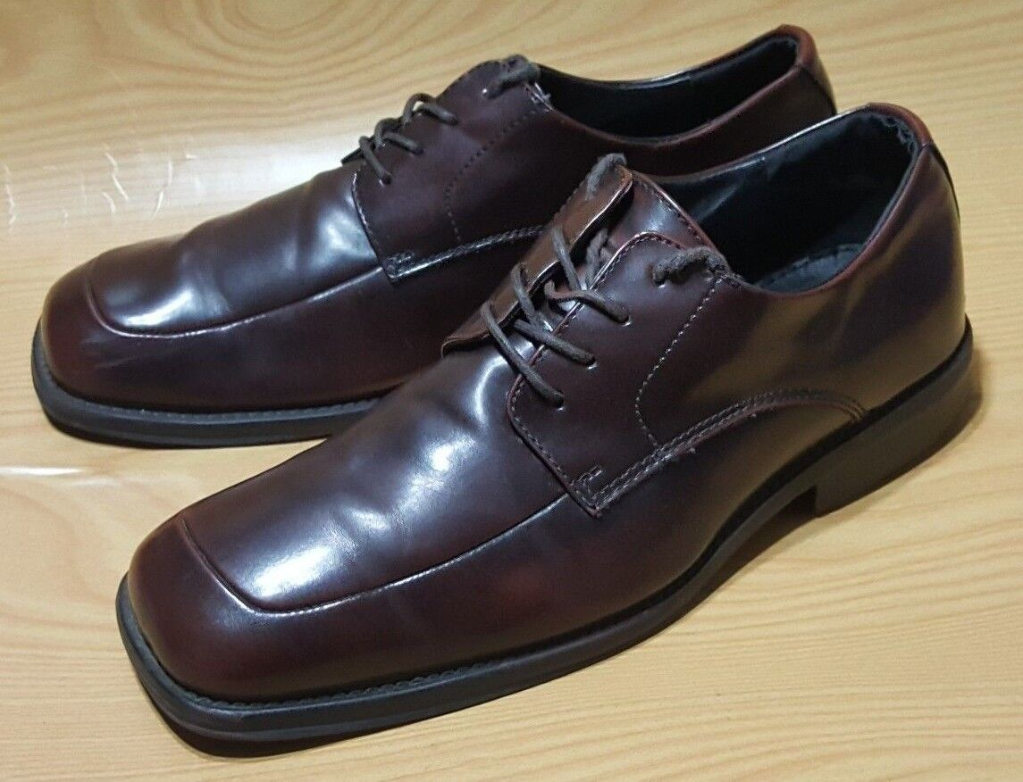 Kenneth Cole Reaction Brown Dress Oxfords Lace Up Mens Shoes 11.5 M