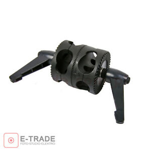 Double-Dual-Grip-Swivel-Head-Bracket-for-Studio-Boom-Arm-Reflector-Holder-Stand