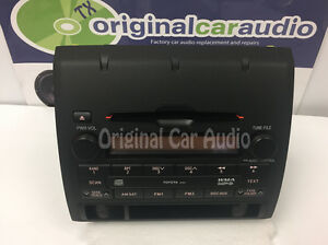 Details about Toyota Tacoma Radio Receiver AM FM MP3 CD Player Stereo OEM  86120-04151 AD1807