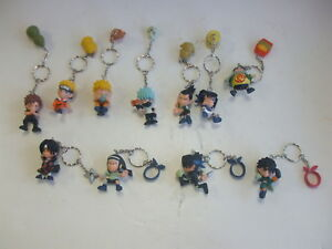 Lot De 11 Porte-clés Personnage Naruto