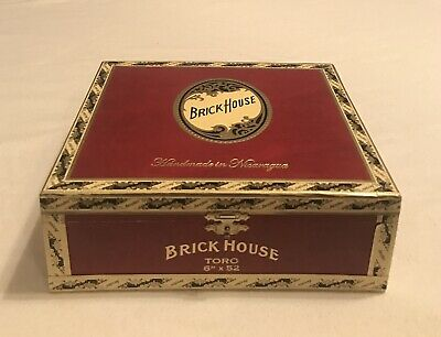 Perdomo Lot 23 Connecticut Robusto Large Wood Wooden Cigar Box Humidor Style