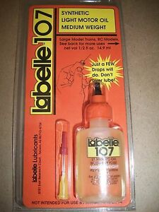 Details about Labelle #107 Synthetic Light Motor Oil Medium Weight Bob The  Train Guy