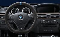 Genuine BMW OEM M Performance Steering Wheel Alcantara E90 E92 E93 M3 DCT