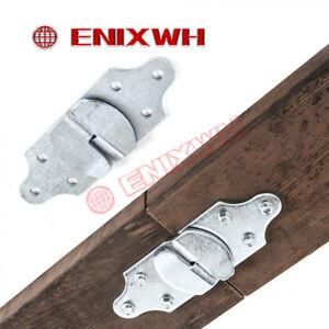 4-PC-Utility-Trailer-Wood-Sides-Latch-Rack-Stake-Body-Straight-Brackets