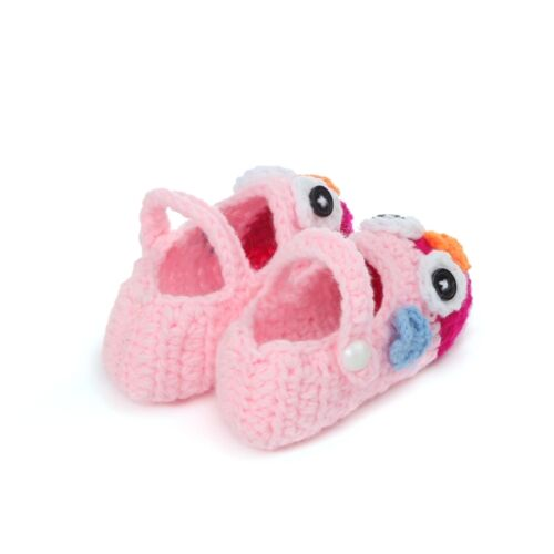 Unisex Baby Toddler Infants Crochet Knitted Shoes Prewalker Booties Sandals Gift