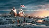 Terry Redlin America America The Beautiful S/n Paper Limited Edition Schoolhouse