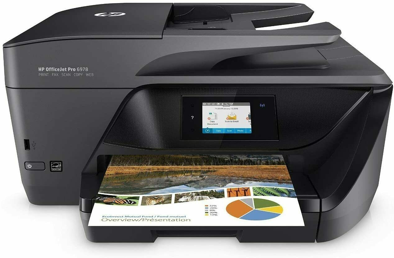 BRAND NEW HP OfficeJet Pro 6978 All-in-One Wireless Printer. Buy it now for 169.00