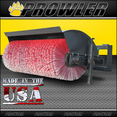 Prowler 72 Inch Hydraulic Angle Broom Sweeper Attachment