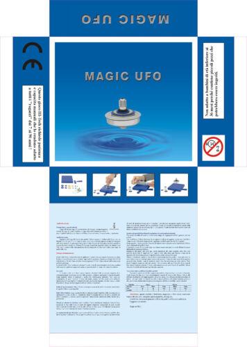 IDEA REGALO UFO TROTTOLA LEVITAZIONE MAGNETICA