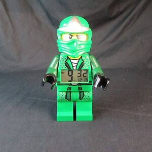 Lego-Ninjago-Green-Ninja-Alarm-Clock-Tested-amp-Works