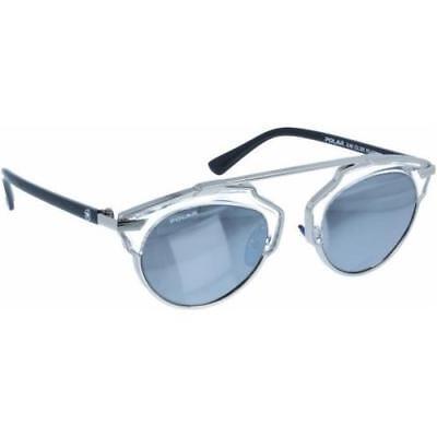 Occhiali da Sole Polar Glam 25B Trasparente ArgentoSpecchio Argento