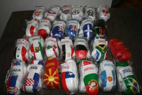 SPAIN SPANISH FLAG Mini Boxing Gloves *NEW*