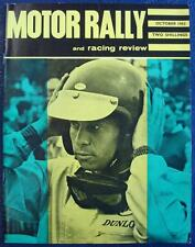 MOTOR RALLY & RACING REVIEW MAGAZINE - Oct 1963 - Vauxhall Victors, VX 4/90 ++