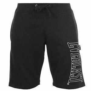 Everlast Mens Premier Shorts Woven Pants Trousers Bottoms Zip Print Drawstring