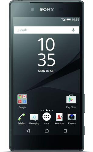 """1 von 1 - Sony Xperia Z5 schwarz 32GB LTE 5,2"""" Android Smartphone ohne Simlock 23MP Kamera"""