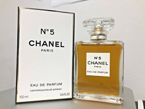 Womens Spray Perfume New In Box Chanel No5 34oz 100ml Eau De