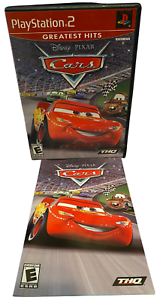 Disney PIXAR Cars W Manual PS2 PlayStation 2 Game