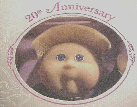 Cabbage Patch Kids Muñeca 20th aniversario 2003 Toys  R 'Us Luke Mitchell Esmoquin