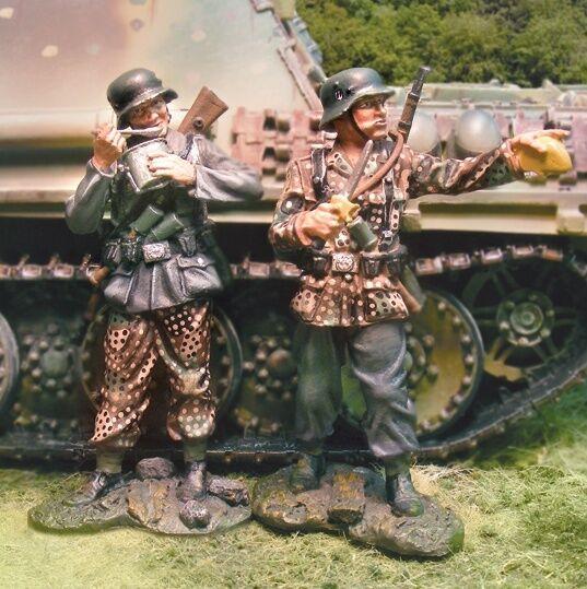 Die Sammler Schaufenster WW2 Deutsch Normandie CS00618 Deutschen Ruhender MIB