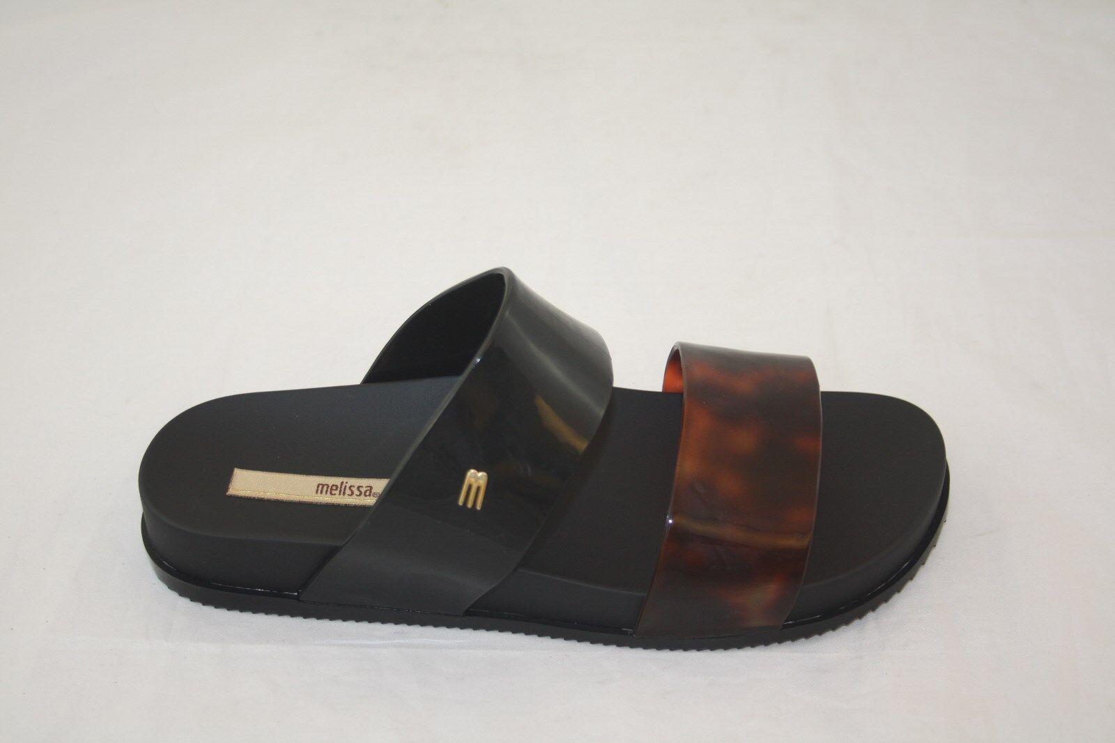 il più alla moda NEW 31613 MELISSA COSMIC AD AD AD 51812 nero TORTOISE SLIDES SANDAL  alla moda