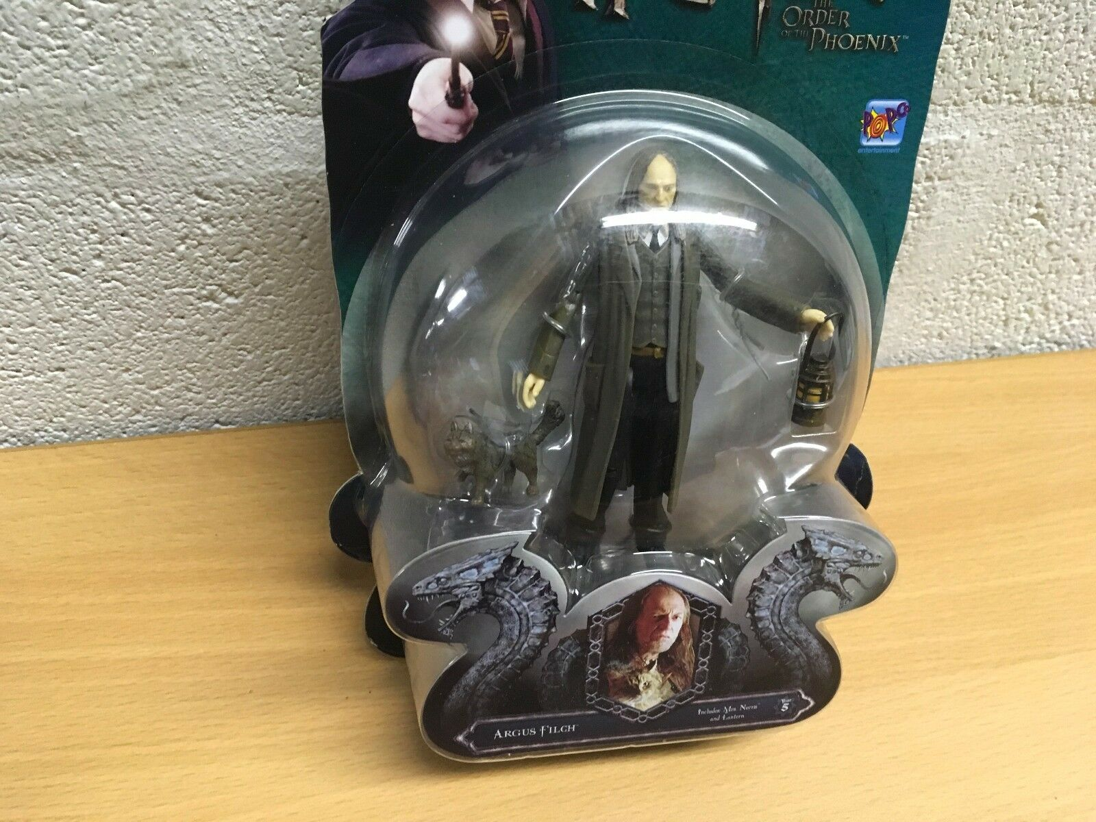 HARRY POTTER ORDER OF THE PHOENIX FIGURE FIGURE FIGURE NEW LORD VOLDERMORT OR ARGUS FILCH a10ecd