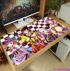 Anime No Game No Life Huge Mouse pad Fashion Gaming Keyboard PlayMat Mice pad