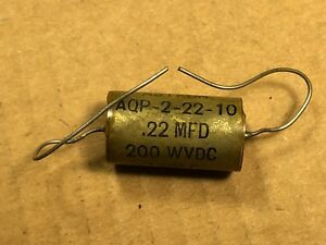 2 X Astron ..25 uf 200v  Capacitors