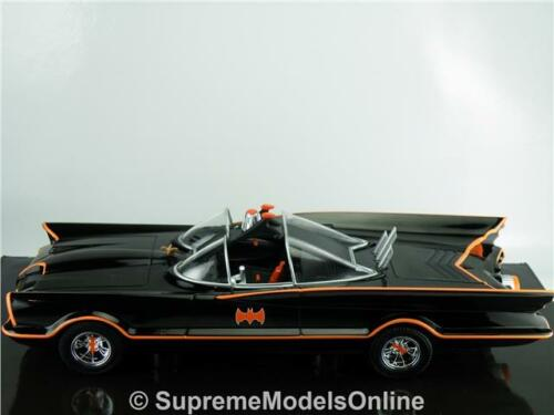 Batimóvil Batman TV Series coche modelo 1//24TH escala ejemplo de color negro T3412Z =