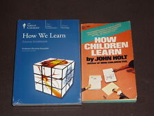 Teaching Co Great Courses   DVDs              HOW  WE  LEARN        new  + BONUS