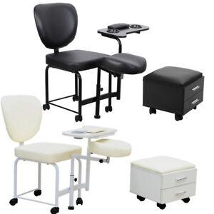 Beauty Salon Stool Beauticians Massage Pedicure Manicure ...