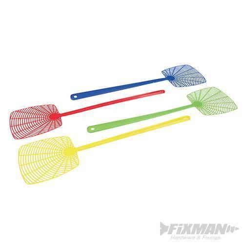 en plastique colorés Mouche Guêpe SWATTERS SWAT Insecte Catcher Bug swatter FIXMAN 4