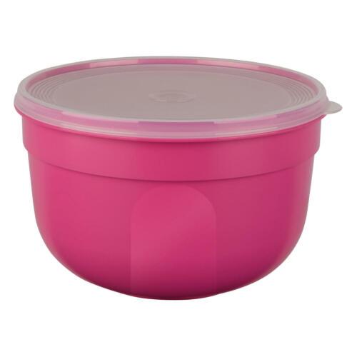 Emsa Superline Colour Frischhalteschale Schale Deckel Box Rund Hoch Pink 2.25 L