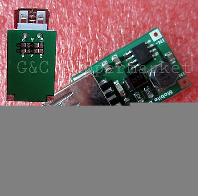 10PCS DC-DC Converter Step Up Boost 2V to 5V 1200mA 1.2A USB Charger phone MG5