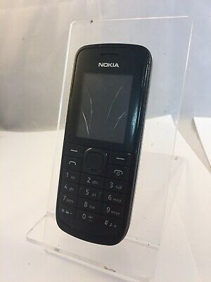 Aggressiv Incomplete Cracked Nokia 113 Unlocked Black Mobile Phone