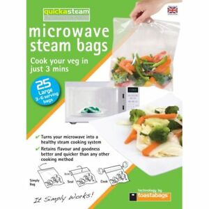 Image Is Loading 25 Microwave Vegetable Veg Cooking Steaming Steam Vegetables