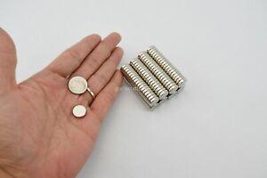 150 PCS N35 4x1 mm Strong Tiny Neodym Miniature Model Warhammer Army DIY Craft