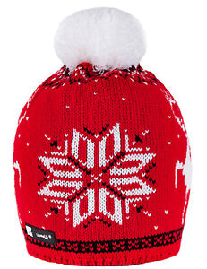 enfants-bonnet-hiver-ver-CHAPEAUX-tricotes-style-garcon-fille-nordique-Noel