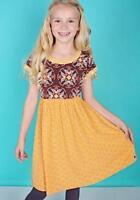 Matilda Jane Girls Happy & Free Sweet Scented Dress Sz 8 10 Tween