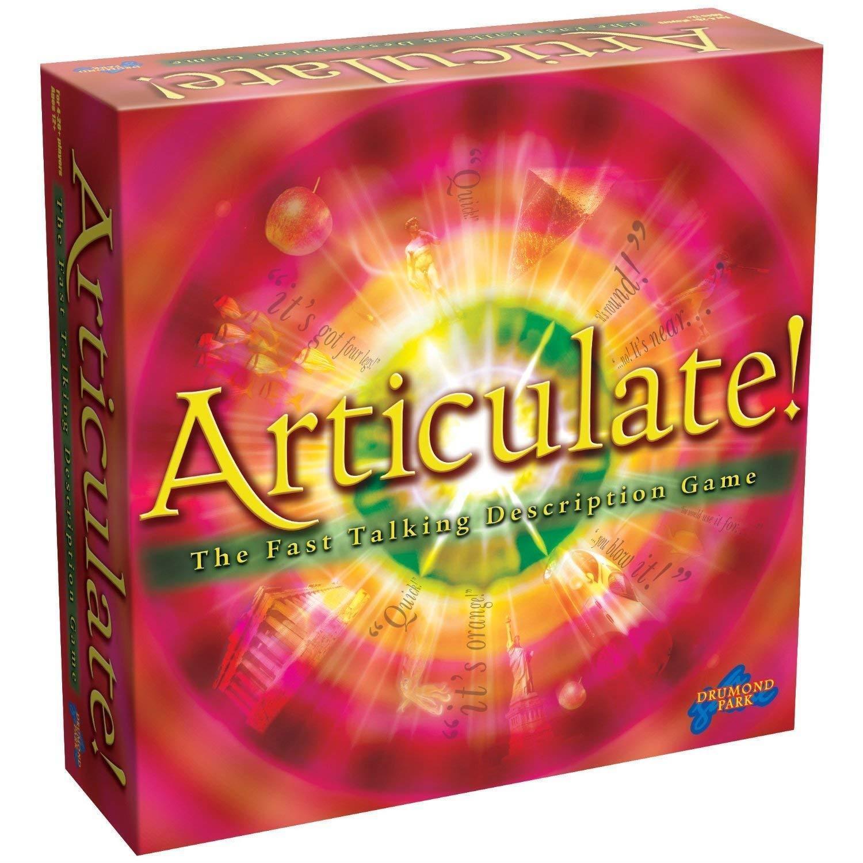 Eloquente-veloce parlando descrizione Board Game Scarabeo Famiglia Divertente Regalo Set