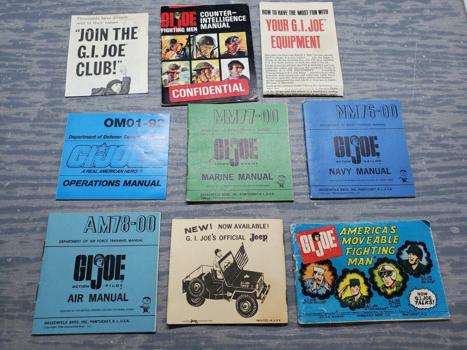 1960s-70s G.I. Joe Accessory Masse