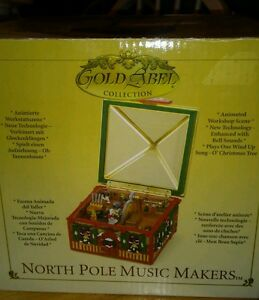 Mr. Christmas Gold Label North POLE MUSICAL MAKERS MUSIC ...