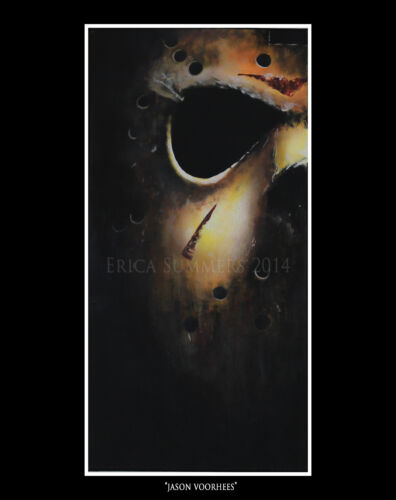 11x14 inch Jason Voorhees Limited Edition Horror Icons Fine Art Print